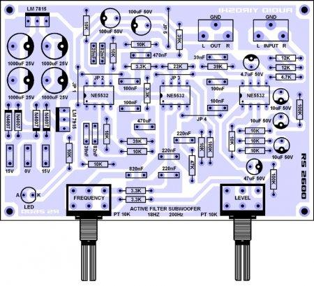 Yiroshi RS2600 elements