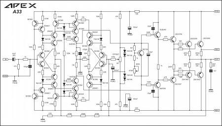 APEX A33 принципиальная схема