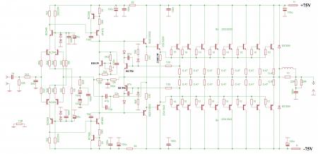 AMP LEACH 700W принципиальная схема