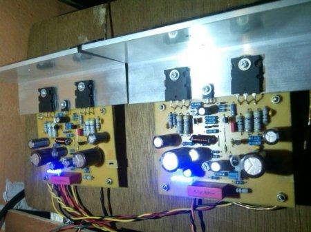 Платы Anistardi Emprit Amplifier в сборе