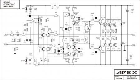 APEX SR200 Schematic 1
