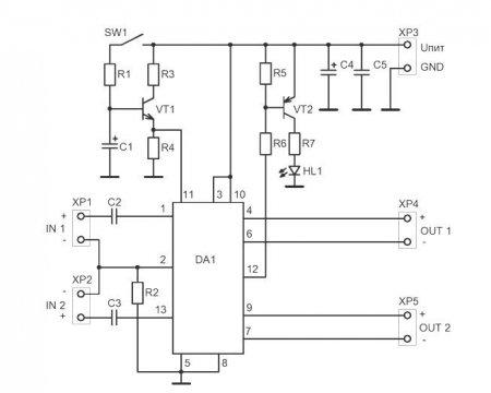 TDA8560Q amplifier schematic