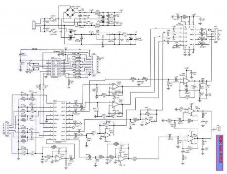 Схема активного сабвуфера BBK MA-800S