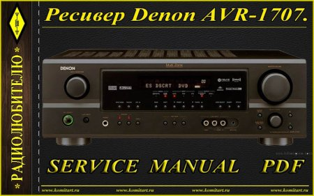 Denon AVR-1707_1507_687_587_487_Service Manual