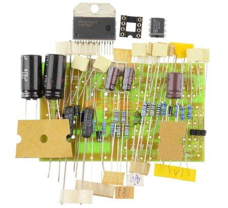KIT LM4766T_AD712 - конструктор усилителя