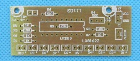 LM3915_10LED_исходник печатной платы_Silk