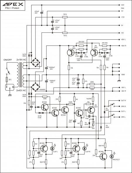 APEX  PSU+DC Protect Schematic