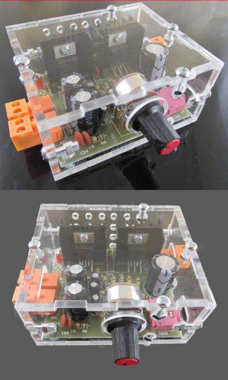 TDA2030 AMP in BOX