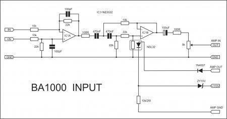 APEX BA1000 Input