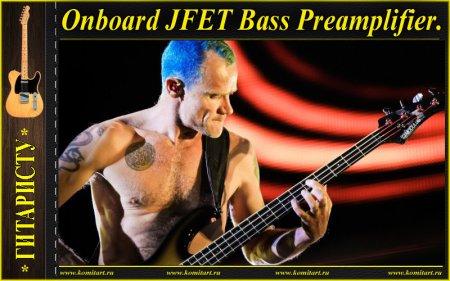 Onboard-JFET-Bass-Preamplifier
