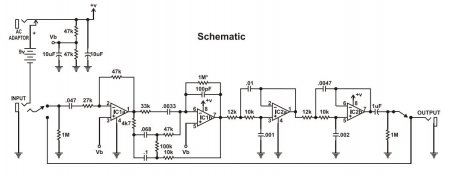 Marshall SpeakerSim schematic