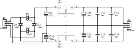 power supply 12V Schematic