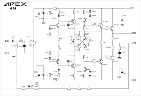 APEX A14 original Schematic