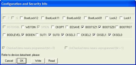 avr_iv2_bit configuration