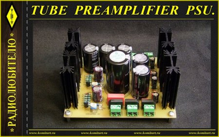Tube Preamplifier PSU v2