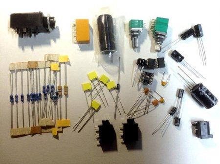 Headphone Amplifier v.3.0_набор элементов KIT