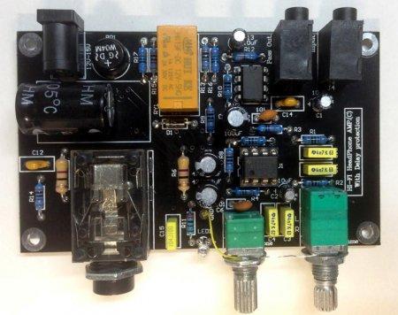 Headphone amplifier v. 3.0 final PCB