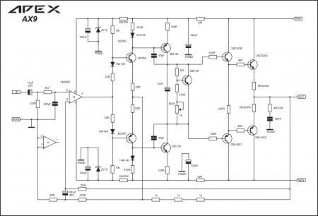 APEX AX9 Schematic