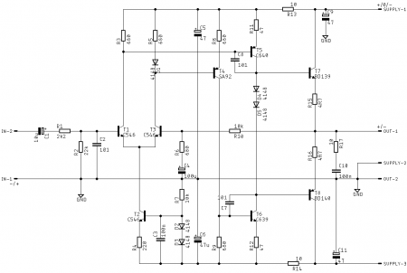 APEX P8 APEX P8 HeadAmp_Preamp - SCHEMATIC