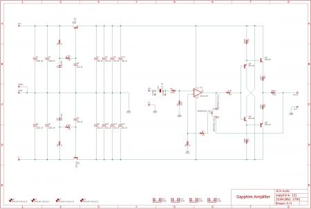 Sapphire 12j Headphone Amplifier_Schematic