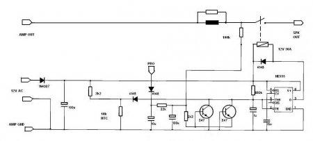 APEX NE555 DC Protect Schematic