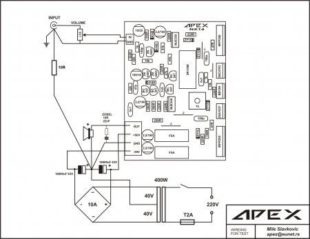 APEX Test Wireing