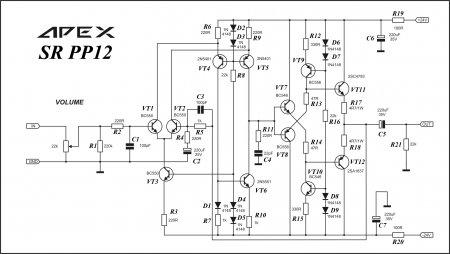 APEX Diamond OS SR PP12 Schematic
