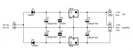 PSU 7815_7915 Schematic