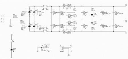Headphone Amplifier Lehmann Audio Black Cube PSU Schematic