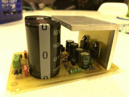 APEX PSU 24-0-24V DC PCB