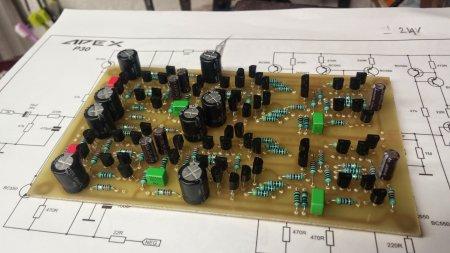 APEX P30 Preamplifier STEREO PCB