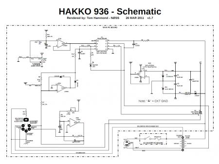 HAKKO 936 Schematic