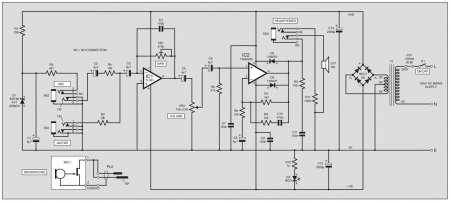 TDA2030 Guitar AMP Schematic