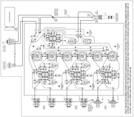 SOUND  CARD  MIXER-внешние соединения