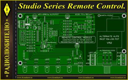Studio Series Remote Control KOMITART Project
