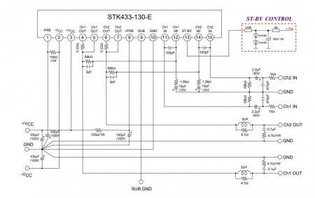 STK433-130-E Schematic
