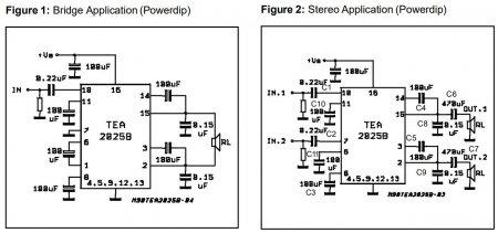TEA2025_datasheet schematic