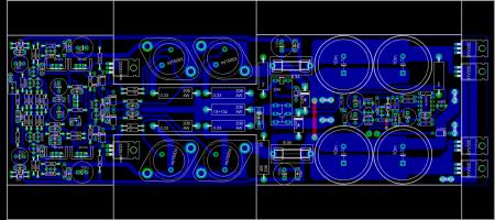 LEACH Amplifier 275W_blue