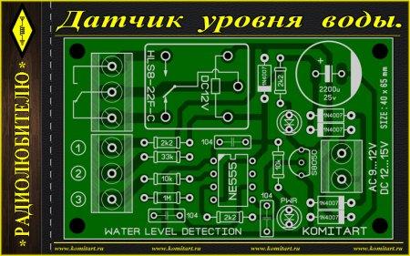Water Level Detection KOMITART Project