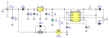 DC Motor Speed Control ver1 schematic
