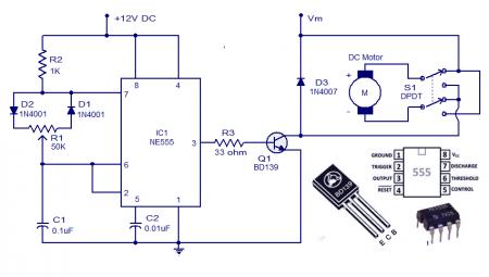 DC Motor Speed Control ver2 schematic
