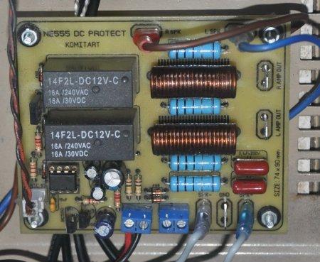 NE555 DC Protect with Zobel Filter Photo