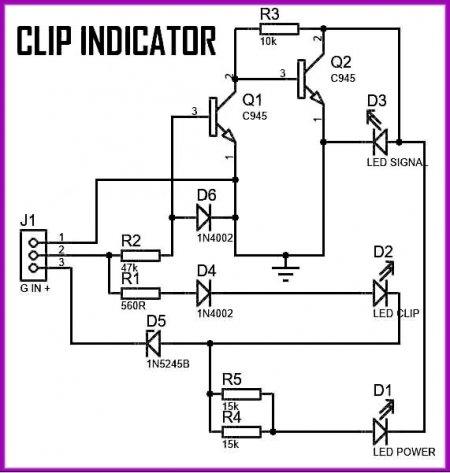 V4_CLip indicator Schematic