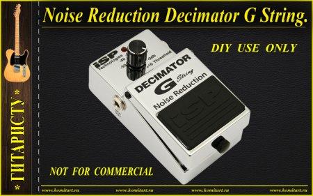 Noise Reduction Decimator G String KOMITART Project