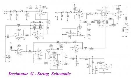 Decimator G String Schematic