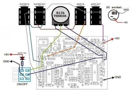 Decimator G String_Схема внешних соединений